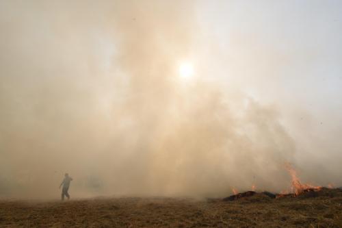 Toxic air hits the crib; especially in India