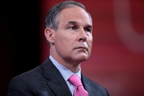 EPA Chief Scott Pruitt  Credit: Wikimedia Commons