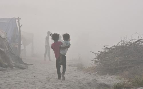 Dirty air and water increase cradle deaths in India