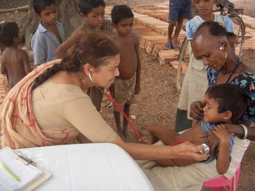 Mandakini Amte has donned the role of a teacher and healer (Credit: Lok Biradri Prakalp)