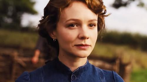 Carey Mulligan plays Bathsheba Everdene in the film adaptation of Far from Madding Crowd (Credit: YouTube)