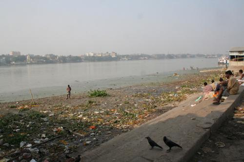 Questions were raised over the pollutants that contaminate river Ganga (Credit: Katjusa Cisar/Flickr)