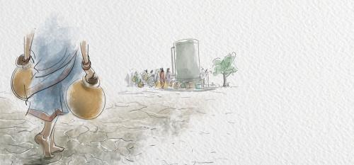 Storm in a water pot