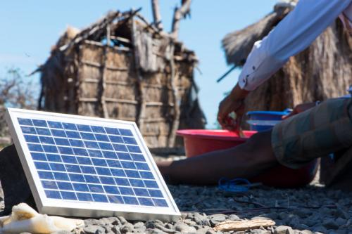 Off-grid solar photovoltaic systems are the most economical sources of electricity for one-third of Africans without electricity access (Credit: iStock)