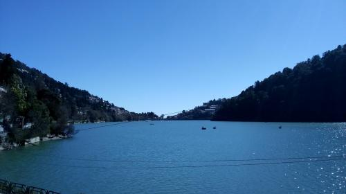 Naini lake records lowest water level, and it's not summer yet
