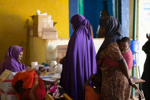 Somali drought heightens risk to mothers during pregnancy and childbirth