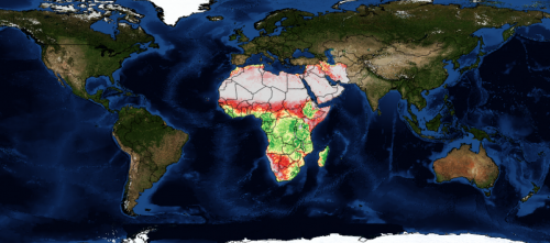 WaPOR uses remote sensing technologies to monitor water productivity in Africa and West Asia CREDIT: FAO