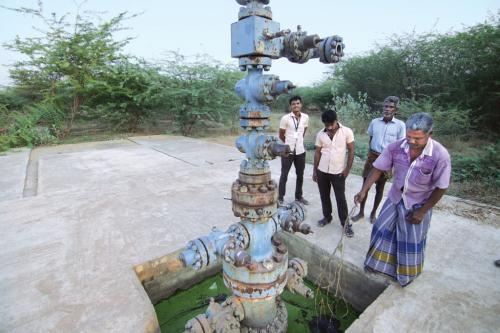 Neduvasal residents protest hydrocarbon extraction in agricultural land