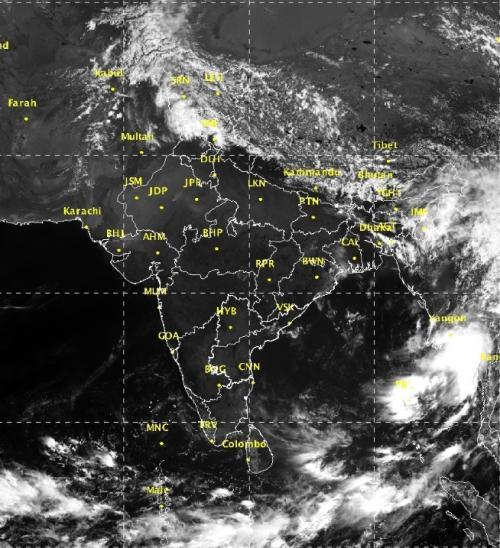 Statistical model forecast suggests that an early monsoon onset over Kerala is unlikely. Credit: IMD