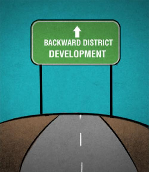 Step forward from the backward districts