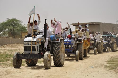 भारतीय किसान, 'चक्रव्यूह' में फंसा अभिमन्यु
