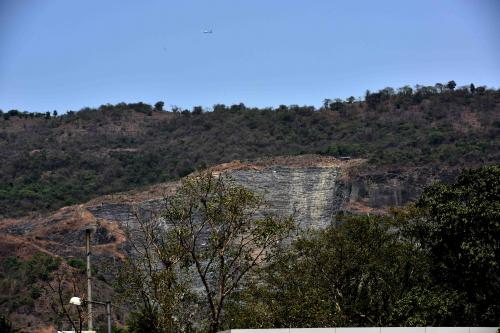 Quarrying suspended in Navi Mumbai's Parsik Hill as authorities review mining lease
