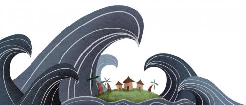 A village island in Kerala is about to vanish