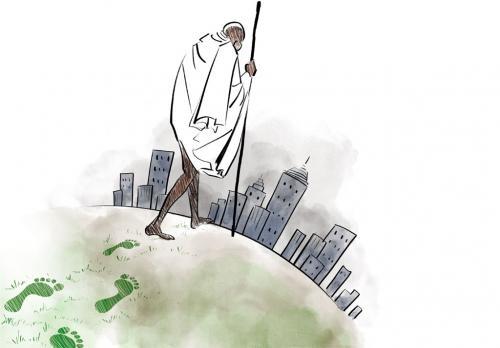 महात्मा से पर्यावरणविद