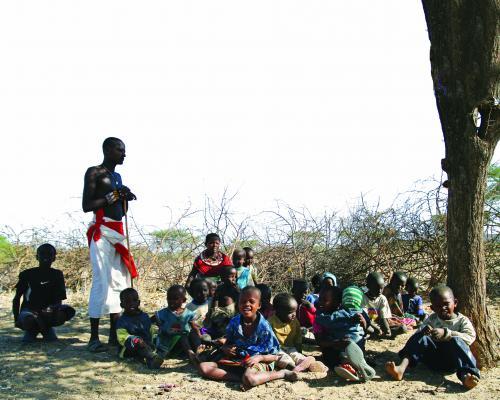 अफ्रीका में बच्चों की बाढ़