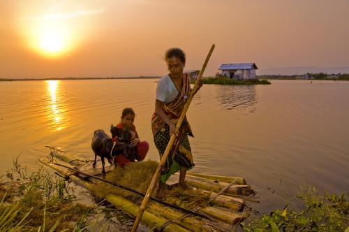 Facing disasters: lessons from a Bangladeshi island
