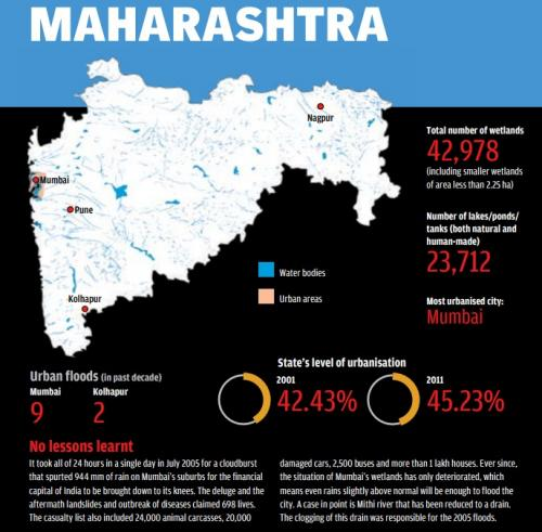 Credit: State of India's urban water bodies