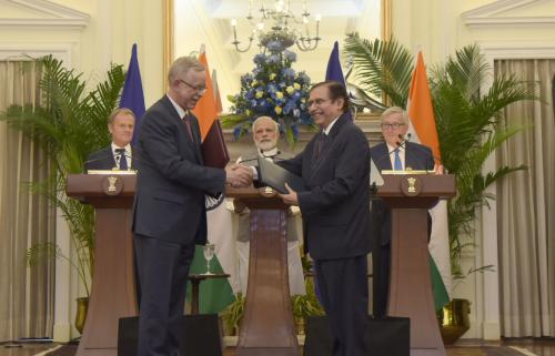 Can India-EU strategic partnership focus on climate change, clean energy?