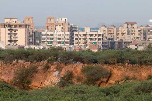 The changing face of Aravalli mountain range