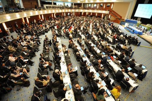 "COP23 at Bonn: ""US still in"", say dissenting senators, but sense of crisis still palpable"