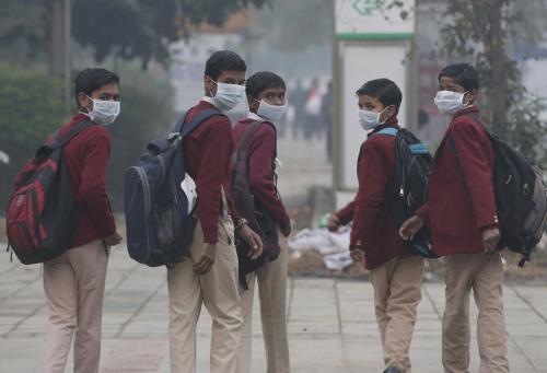 Air pollution retards lung growth in Delhi children; studies point to health emergency
