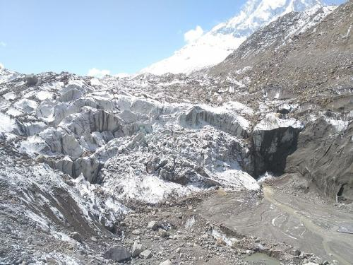 The Gangotri glacier Credit: Wikimedia Commons