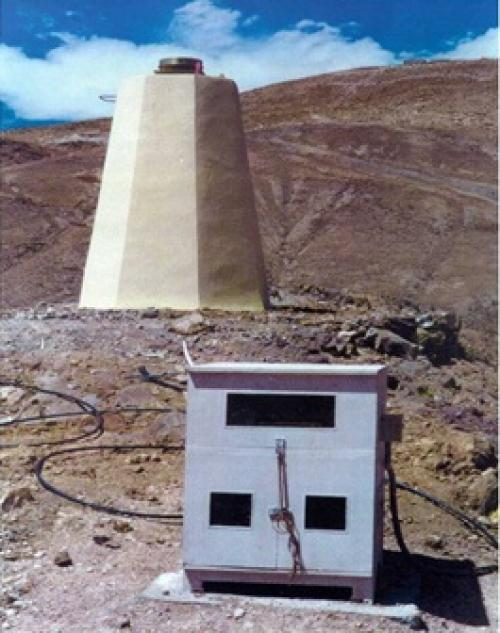 GPS station at Hanle in Ladakh was one of the stations from where data was collected. Credit: India Science Wire