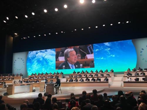 Industry acquires centre stage at Climate Summit in France