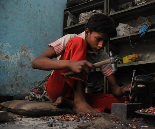 E-waste contaminating Delhi's groundwater and soil