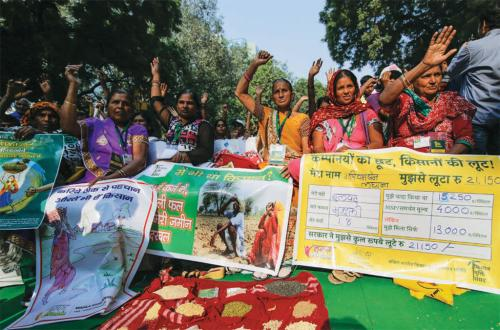 Defeminisation of Indian agriculture