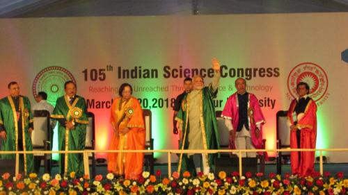 Extend research from labs to the land: Modi at 105th Indian Science Congress