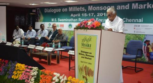 'Millets can solve our food needs as climate changes'