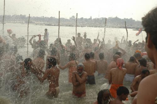 Kumbh leaves Godavari with 130 times more bacteria load