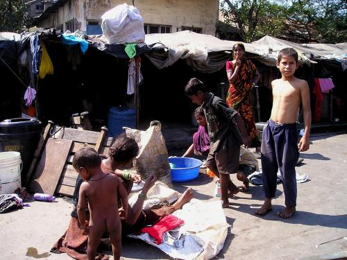 Two per cent of world population: that's the number of poor in just five states of India