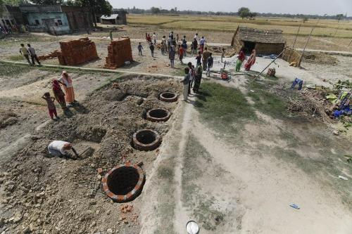More than 50% rural households across 5 states are still without toilets