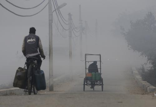 In winter, the city hardly witnessed a good air quality day. Credit: Vikas Choudhary