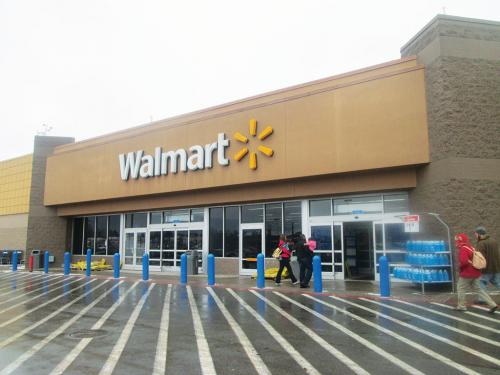Walmart is the world's largest grocer as nearly 55 per cent of  its sales come