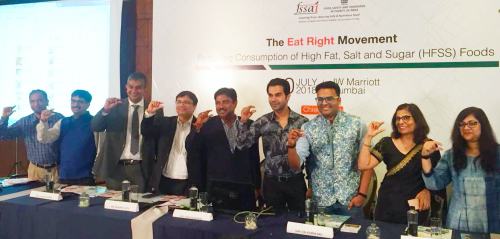 FSSAI launches Eat Right campaign to curb consumption of sugar, salt and fat