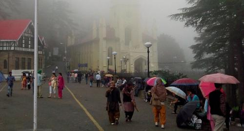 Shimla suffered from excessive rainfall that won't solve its water woes