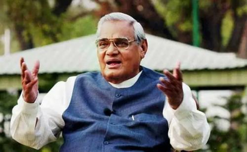 Environmentally conscious former PM Vajpayee no more