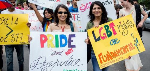 Being gay in India no longer a crime