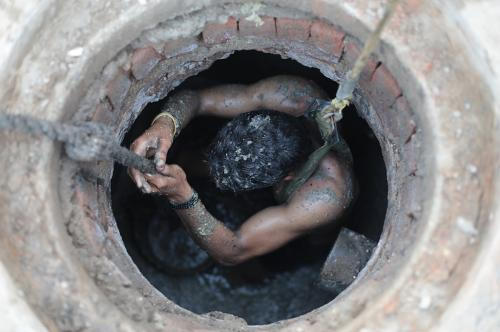 Manual scavenging: A stinking legacy of suffocation and stigma