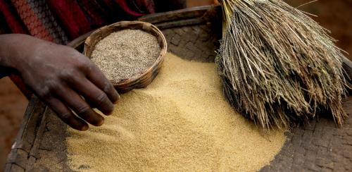 Culture has helped millets survive