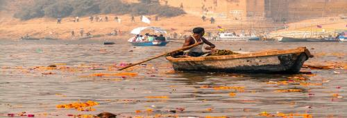 Ganga and the death of its crusader