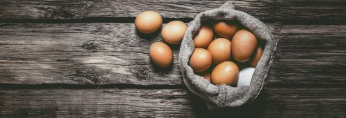 These eggs are low cholesterol, rich in omega 3 fatty acids