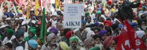 Two-day farmers' protest in Delhi; demand for 21-day joint Parliament session