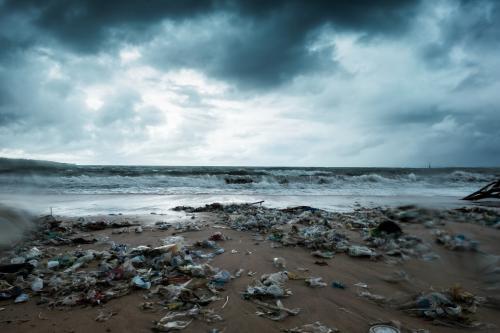 Plastic pollution in Bali