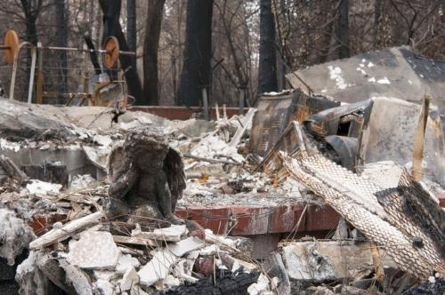 """It says that the most expensive natural disaster was the """"Camp Fire"""" in northern California with overall losses of US$ 16.5bn and insured losses of US$ 12.5bn. Image credit: U.S. Air Force photo by Staff Sgt. Taylor Workman"""