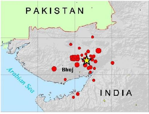 Earthquakes hit Gujarat and Maharashtra