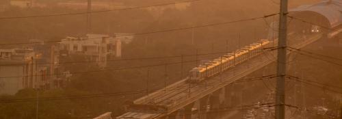 Air pollution in Delhi means restrictions on using public transportation